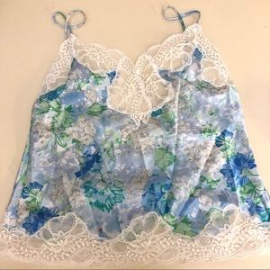 Oscar de la Renta lace tank intimates nightwear
